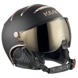 Casco esquí Kask Chrome negro-rosa