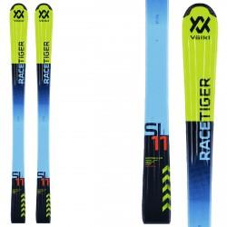 Esquí Volkl Racetiger Jr Flat + fijaciones SL 4.5 amarillo