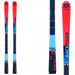 Ski Volkl Racetiger GS R Jr W + fixations Race Jr 10