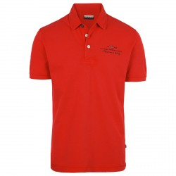 Polo Napapijri Elbas Man red
