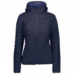 Down jacket Cmp Woman blue
