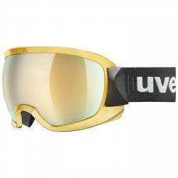 Maschera sci Uvex Contest Fm nero-giallo