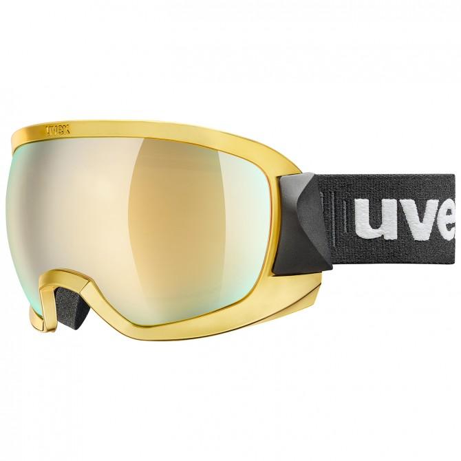 Ski goggle Uvex Contest FM gold
