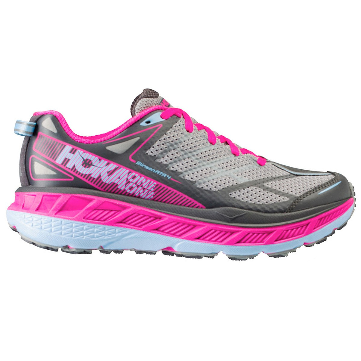 chaussure trail running hoka one one stinson atr 4 femme trail running. Black Bedroom Furniture Sets. Home Design Ideas