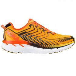 Zapatos trail running Hoka One One Clifton 4 Hombre naranja
