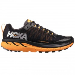 Chaussures trail running Hoka One One Challenger ATR 4 Homme noir-orange