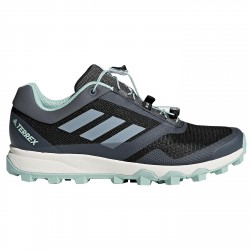 Trail running shoes Adidas Terrex Trail Maker Woman black-green