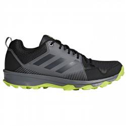 Zapatos trail running Adidas Terrex Tracerocker Hombre gris-lime