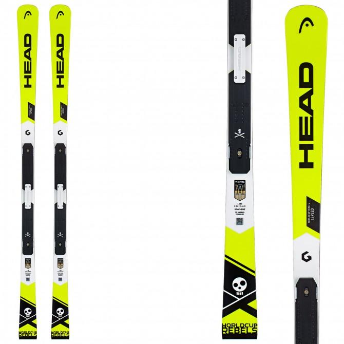 Ski Head WC Rebels iSpeed Rp Evo + fixations Freeflex Evo 14 Brake 85
