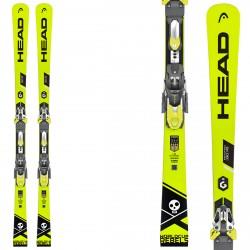 Ski Head WC Rebels iRace Pro + fixations Freeflex Evo 16 Brake 85