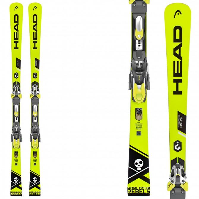 Ski Head WC Rebels iRace Pro + bindings Freeflex Evo 16 ...