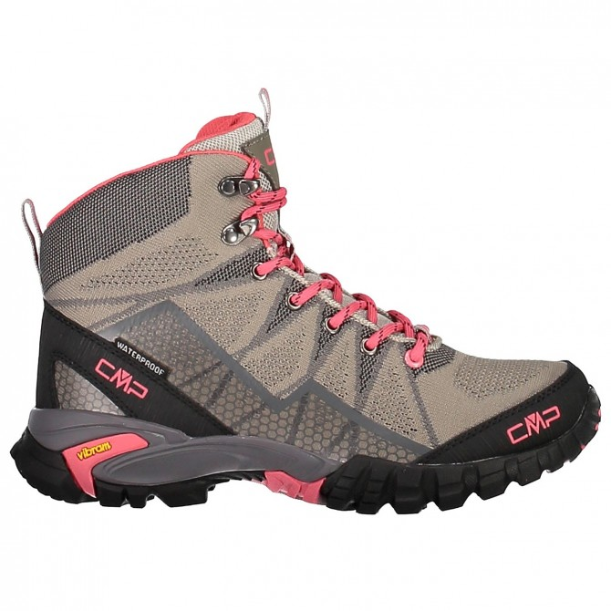 Zapato trekking Cmp Tauri Mid Mujer gris