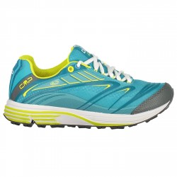 Trail running shoes Maia Woman teal