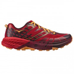 Chaussures trail running Hoka One One Speedgoat 2 Homme rouge