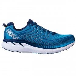 Chaussures trail running Hoka One One Clifton 4 Homme bleu clair