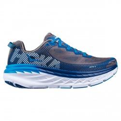 Chaussures running Hoka One One Bondi 5 Homme gris-bleu