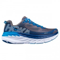 Running shoes Hoka One One Bondi 5 Man grey-blue