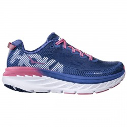 Running shoes Hoka One One Bondi 5 Woman blue-pink
