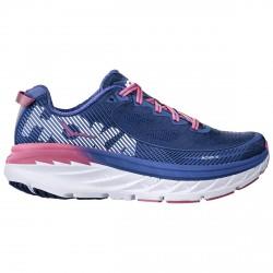 Zapatos running Hoka One One Bondi 5 Mujer azul-rosa