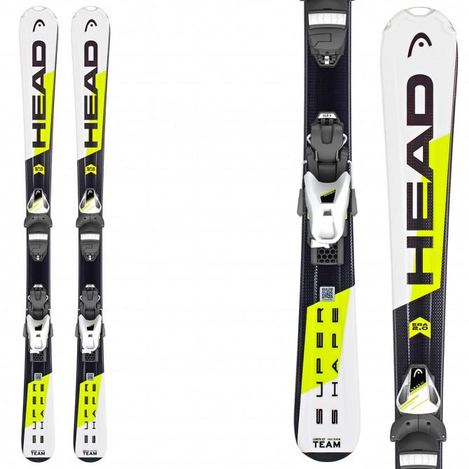 Esquí Head Supershape Team SLR2 + fijaciones SLR 4.5 AC Brake 74