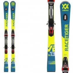 Sci Volkl Racetiger SL + attacchi RMotion2 12 giallo-blu