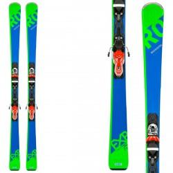 Ski Rossignol Experience 75 CA + fixations Xpress 10 B83 bleu