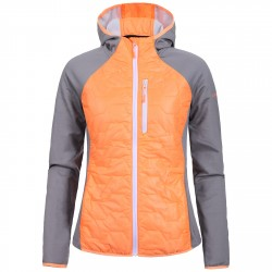 Trekking jacket Icepeak Bjork Woman orange