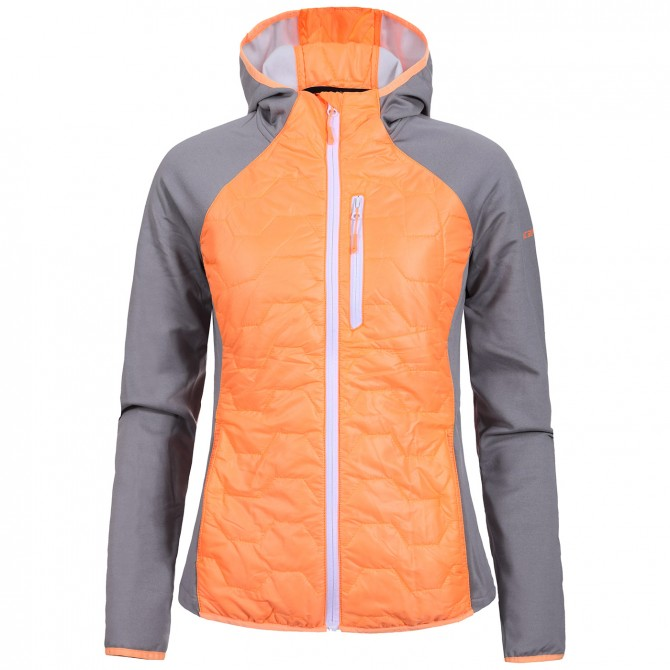 Mountaineering jacket Icepeak Bjork Woman orange