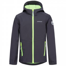Softshell Icepeak Teiko Junior grigio