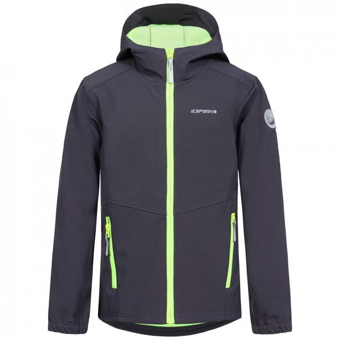 Softshell Icepeak Teiko Junior grigio ICEPEAK Abbigliamento outdoor junior
