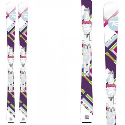 ski Rossignol Fun Girl (100-130) + bindings Xelium Kid Saphir 45 B69
