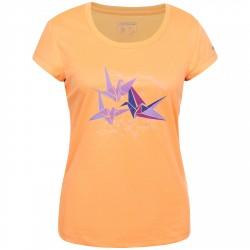 T-shirt trekking Icepeak Gamma Mujer naranja