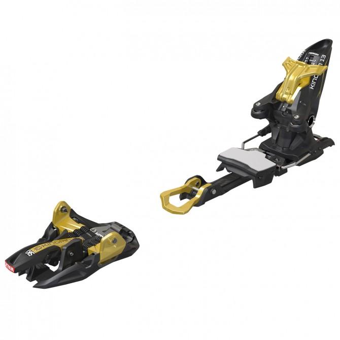 Attacchi sci alpinismo Marker Kingpin 13 75-100 mm nero-oro