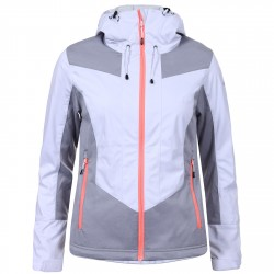 Softshell Icepeak Glory Woman white