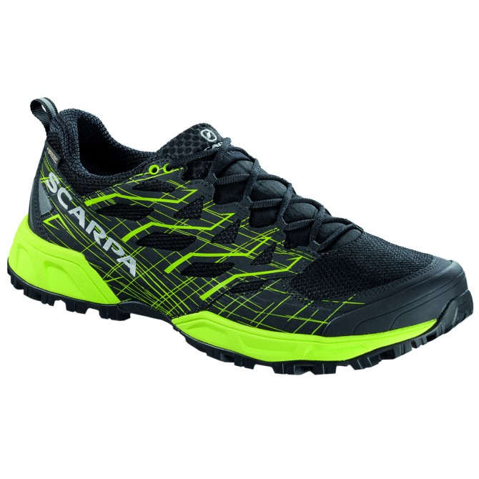 Zapatos trail running Scarpa Neutron 2 Gtx Hombre negro-verde