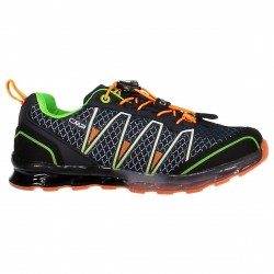 Chaussure trail running Atlas Junior bleu-orange (25-32)
