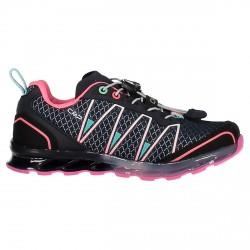 Zapato trail running Atlas Junior azul-rosa (25-32)