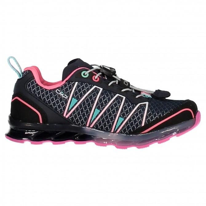 Trail running shoes Atlas Junior blue-pink (25-32)