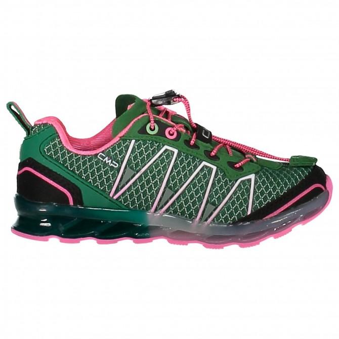 Trail running shoes Atlas Junior green-pink (25-32)