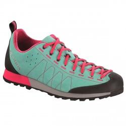 Sneakers Scarpa Highball Donna verde acqua-fucsia