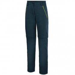 Pantalon trekking Nordsen Graphite Femme bleu jeans