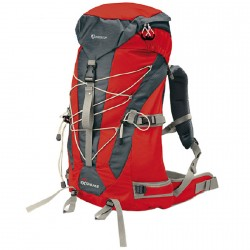 Sac à dos trekking Nordsen Extreme rouge
