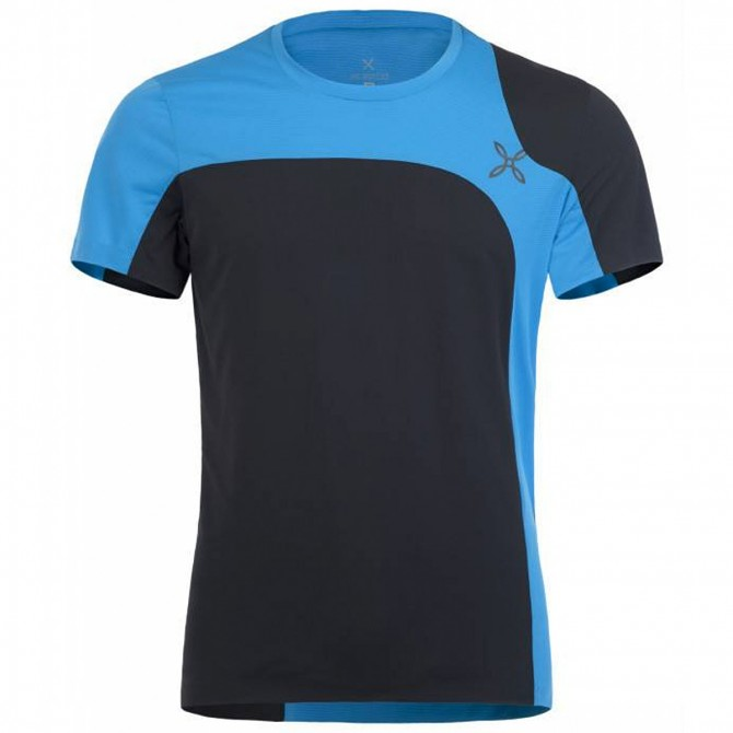 T-shirt trekking Montura Outdoor Style Man black