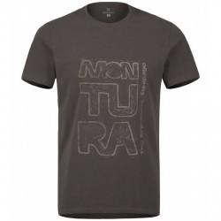 T-shirt trekking Montura Engraves Uomo grigio