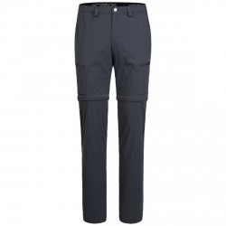 Pantalones trekking Montura Travel Time Zip-off Hombre gris