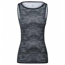 Camiseta trekking Montura Fantasy Shape Mujer gris