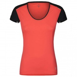 T-shirt running Montura Super Light Mujer coral