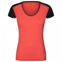 T-shirt running Montura Super Light Donna corallo