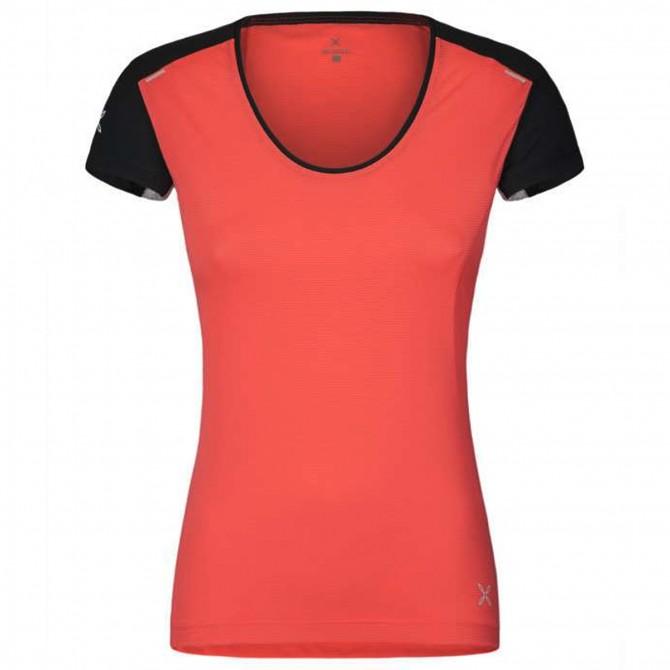 T-shirt running Montura Super Light Femme corail