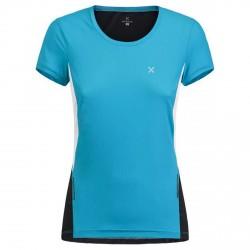 T-shirt running Montura Run Mix Mujer azul claro